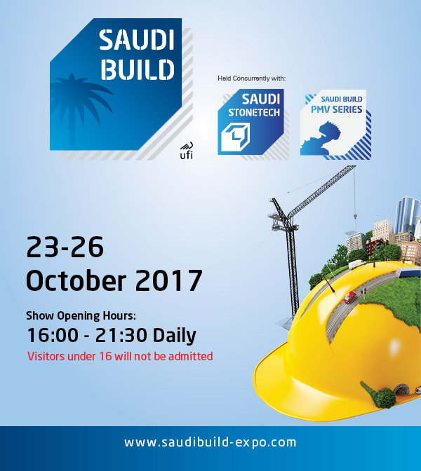Participation au salon international de SAUDI BUILD