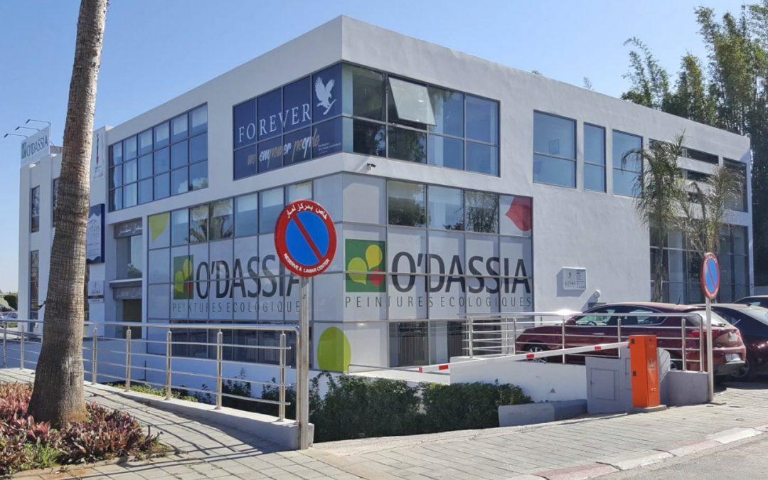 O'DASSIA peintures ouvre son nouveau Showroom à Rabat