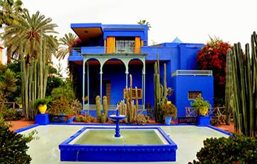 Jardin Majorelle<br>Odavinyl Bleu Majorelle